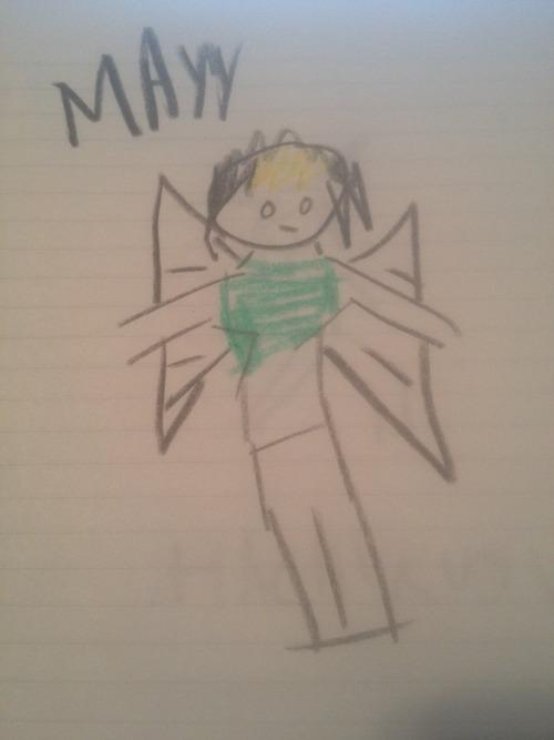 Angry Crayon Mayy